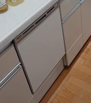 キッチン ビルトイン食洗機の交換