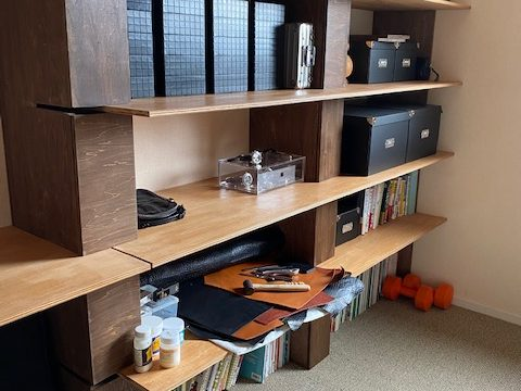 -匠blog- 造作棚を作りました!