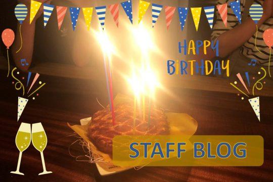 誕生日をお祝いしてもらいました